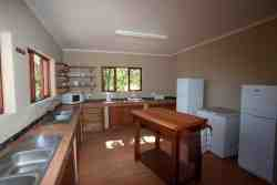 Our fully equipped self catering kitchen