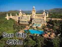 At Sun City there are watersports, Valley of waves, gambling, restaurants, movies, Golf course, animal garden, children play areas too many to mention. You will need at least 2 whole days to enjoy everything.