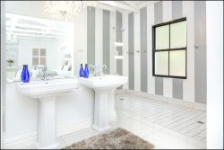 Luxury Suite - His and Hers Showers and Basins