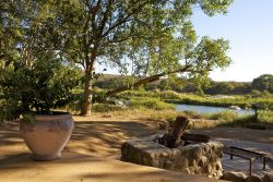 Kingfisher Cottage with barbeque facilities and Olifants river view
