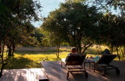 Bushwillow Lodge main viewing deck