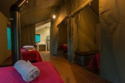 Bushwillow Tented Camp - Compartmented Tent (Conference setup)