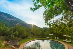 Bushwillow Tented Camp - Hot water swimming pool