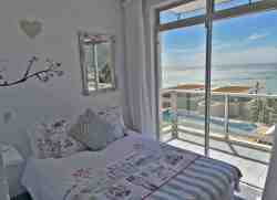 2nd guest room with double bed & beautiful views and own balcony