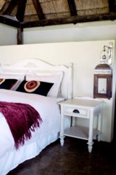 Figtree Lodge with Luxurious linen and pillows.