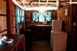 Fully equipped self-catering kitchen in all units