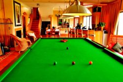 Billiard Table in Lounge