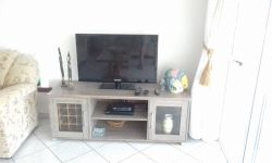 Flat screen TV. with full DSTV premium package