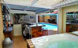 Jacuzzi and Bar area