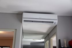 New airconditioning unit in living area