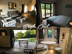 Eagle Owl - Chalet - 2 Bedrooms, Self Catering, sleeps 4