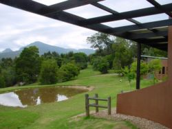 View from Fish Eagle Chalet
