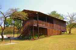 3-bedroom, 6-sleeper chalet - large and spacious, with a beautiful view across the Lowveld
