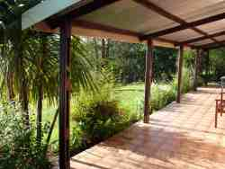The verandah from where you can soak up the views & sunsets