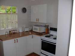 Fully equipped kitchen including washing machine