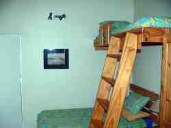 Second bedroom - 1 single bed + overhead bunk