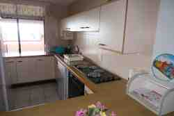 Fully equipped kitchen with fridge/freezer, microwave, stove and oven and dishwasher