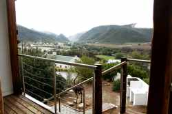 View from Swartberg View's deck