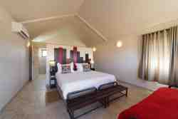 Desert Camp Unit Bedroom with aircon