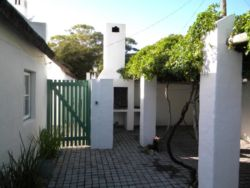 Each cottage has a private courtyard with traditional barbeque and secure parking.