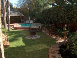 Swimming pool and external braai/barbeque facilities