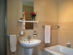 En-suite bathrooms. All with showers.