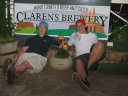 Clarens is well known for beer tasting and the annual beer festival