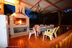 Braai Area and Outside Deck