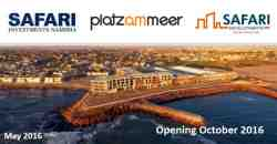 Platz am Meer Shopping Center. 3 Minutes walking from F1 Waterfront Estate