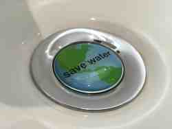 We save water