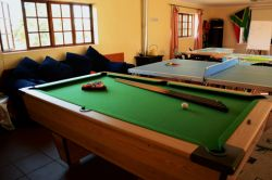 Games Room with Table Tennis, Pool Table, Sun Deck & Braai Garden.