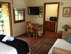Self Catering unit with 1 double bed