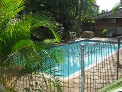 Flamboyant swimming pool