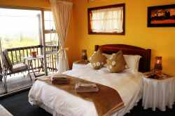 Superior Balcony Room, Queen & Single bed, Private Balcony over looking our beautiful city, Airconditioned, DSTV with en-suite Shower