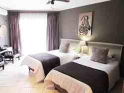 Our deluxe twin rooms with two 3/4 beds