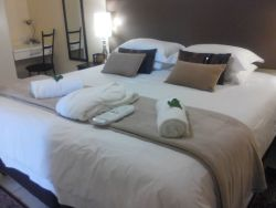Newly renovated, Garden Suite now has a spacious separate bedroom and comfy king size bed.