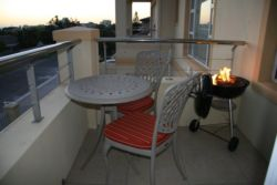 Balcony with Braai