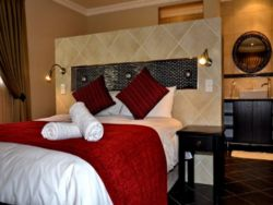 A view of our popular LUXURY room. this one comes with a bath and shower but no self-catering.