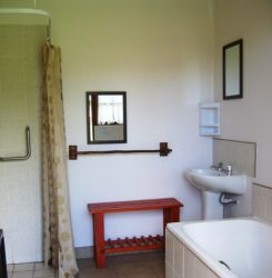 Caravan Park Bathroom