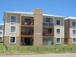 Hartenbos Holiday Apartment situated on first floor to the left