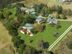 Aerial View of Garden Cottages and Garden Suites