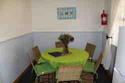 Dining Area Captains Cottage