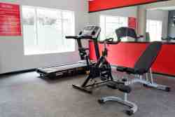 Gym available to all guests