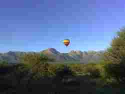 Hot Air Balloon Over The Blyde Wildlife Estate