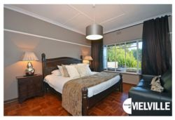 Double bedroom - at 25 8th Avenue, Melville, Johannesburg.