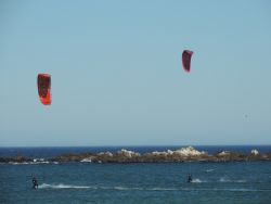 Kite surfing available