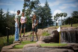 Adventure golf course - day out with family and friends