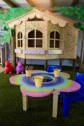 'Kiddies Corner' - safe, indoor, playrrom for children with TV, games and toys