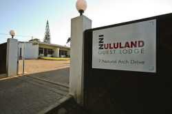 InnZululand Guest Lodge entrance
