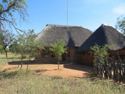 Chalet 1 (Rooms 1 and 2). Has own kitchenette and lapa/braai area.